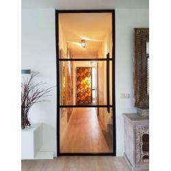 Skleněné industriální dveře...