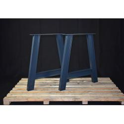 Kovové hranaté podnoží stolu typ 5