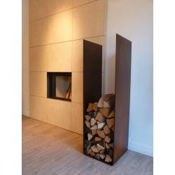 Industriální celokovový zásobník na dřevo Winta 2