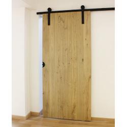 Systém kování posuvných dveří po stěně Retro Barn 80, pro jedny dveře