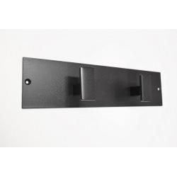 Moderní ocelový věšák na stěnu 2ks