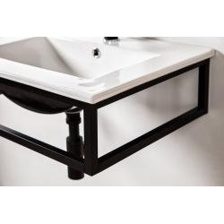 černá koupelnová konzole