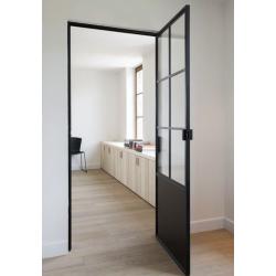 Ocelové interiérové dveře...