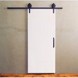Moderní posuvné dveře bílé mat